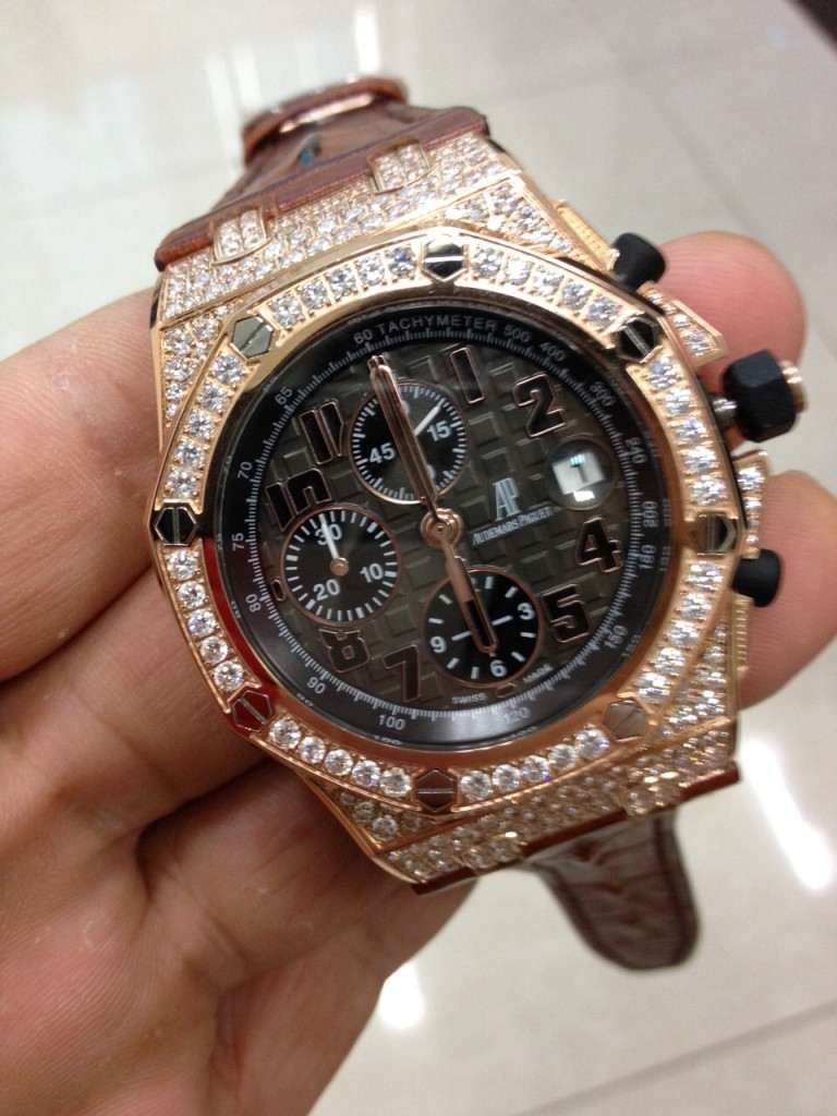 Audemars Piguet Diamond Watch 2
