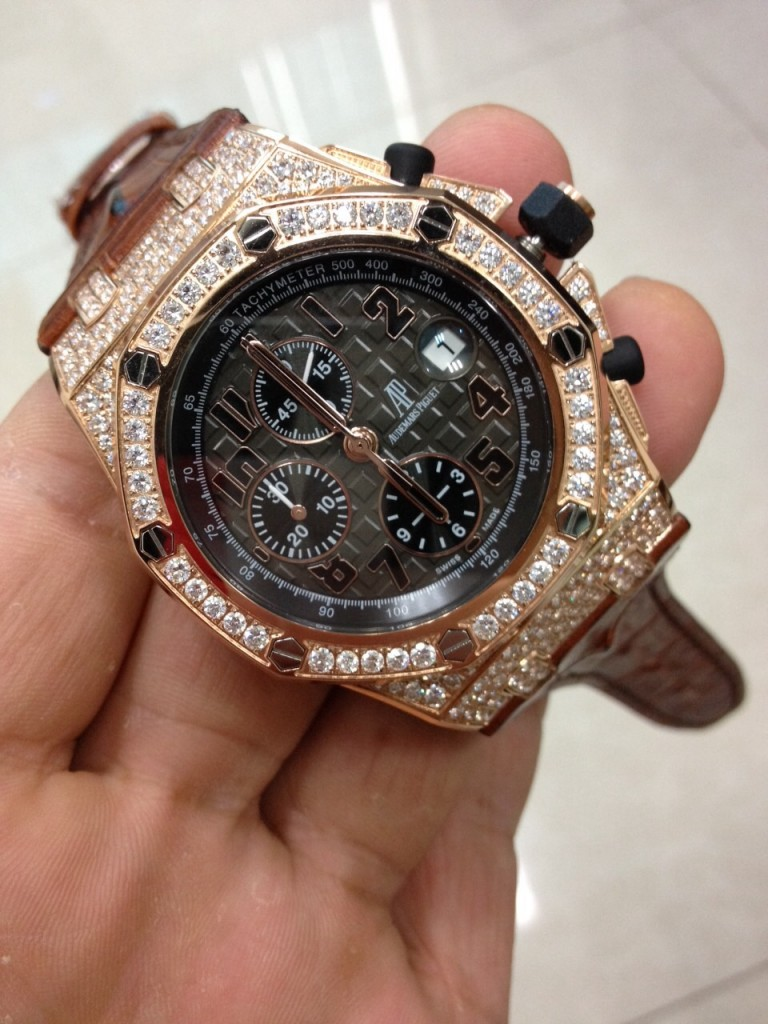 Audemars Piguet Diamond Watch 3