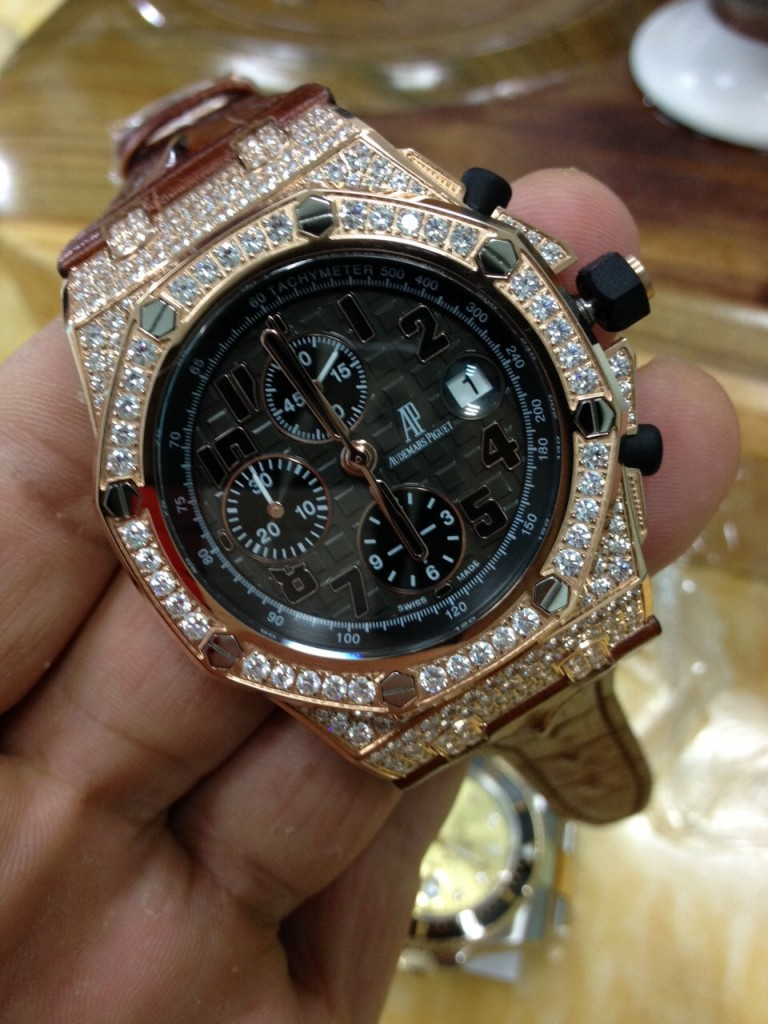 Audemars Piguet Diamond Watch 4