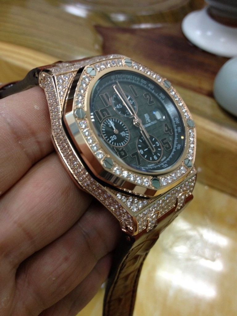 Audemars Piguet Diamond Watch 5