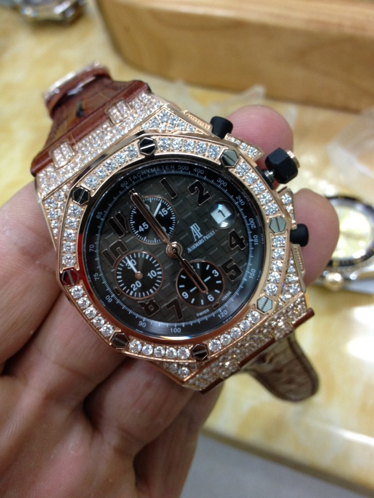 Audemars Piguet Diamond Watch