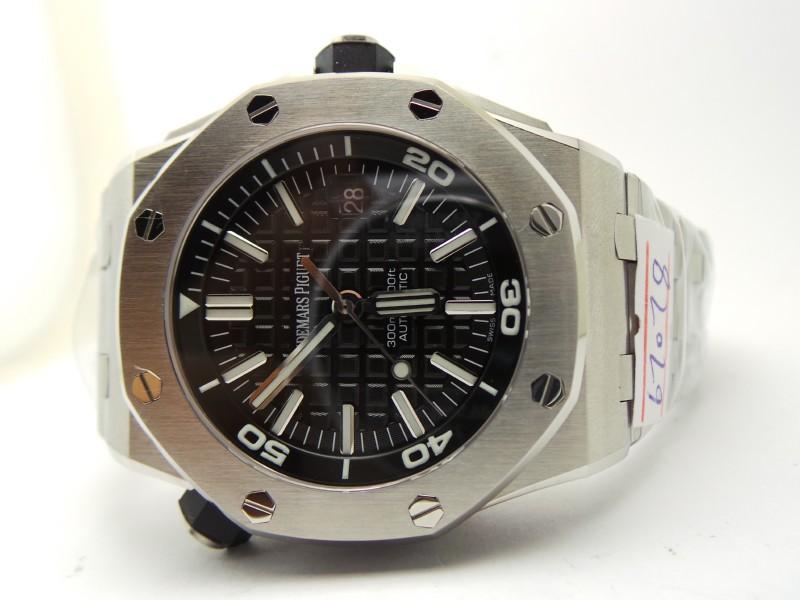 Audemars Piguet Diver Steel Watch Replica