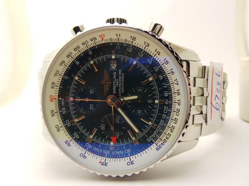 Breitling Navitimer World Black Dial