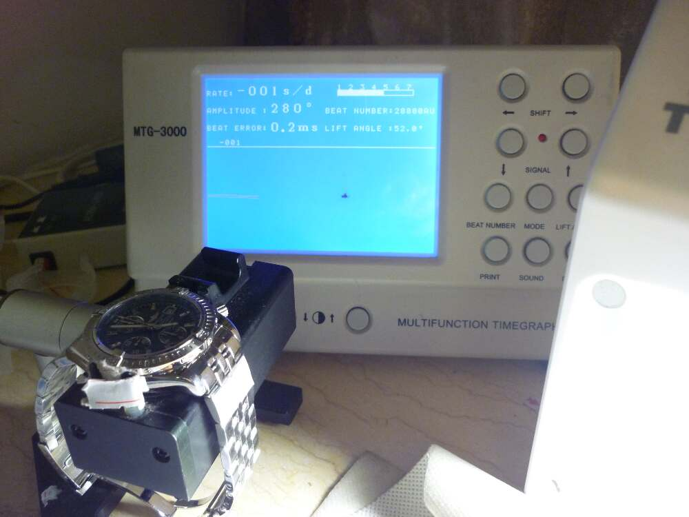 Breitling Watch Test