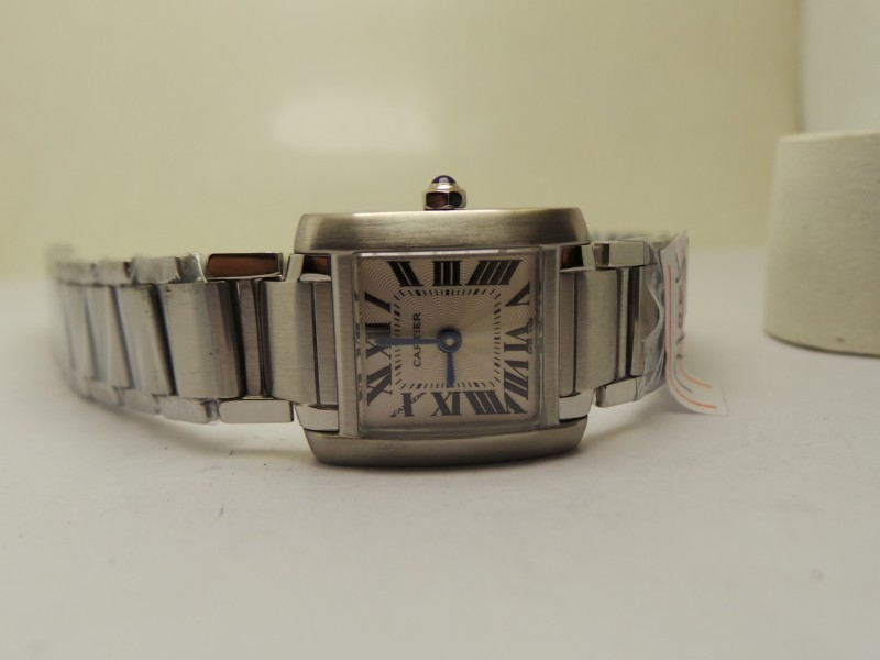 Cartier Tank Francaise Stainless Steel Case