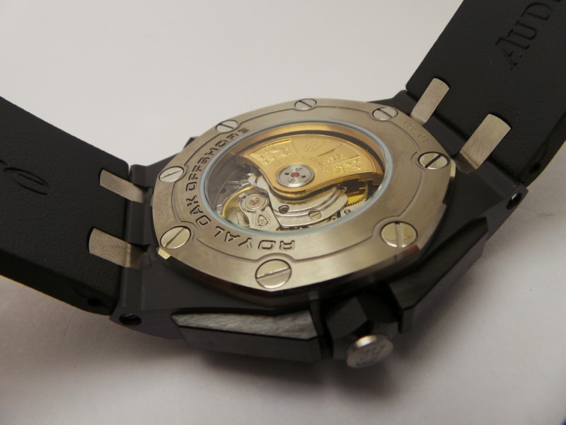 Replica Audemars Piguet Diver Case Back
