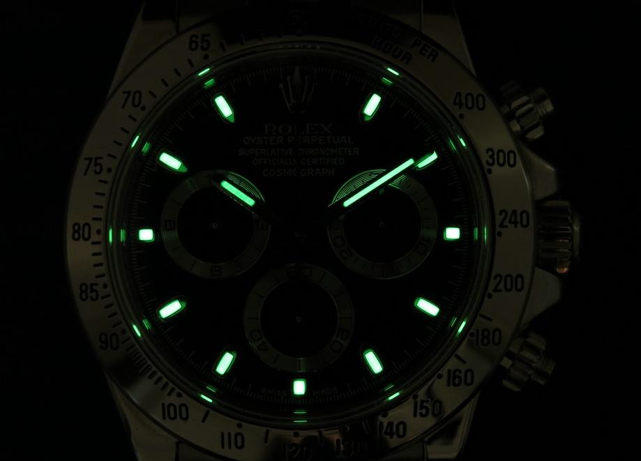 Rolex Daytona Lume