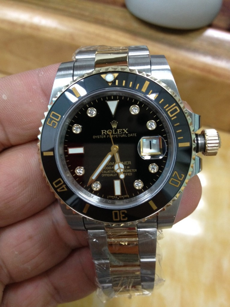 Rolex Submariner 116613 LN Replica 2