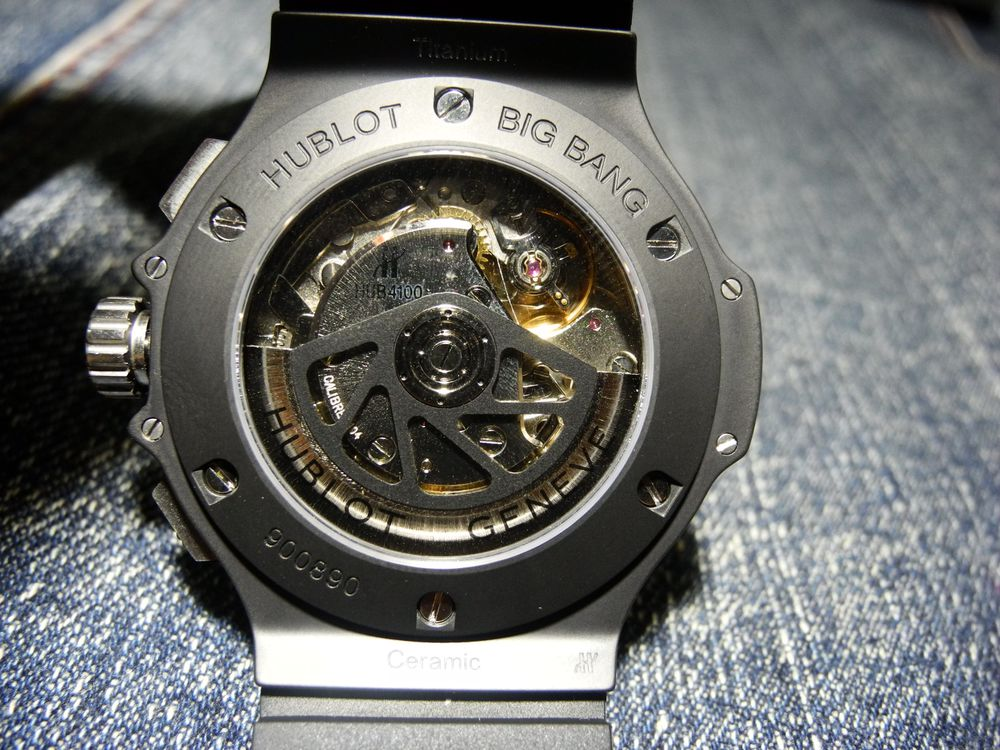 Hublot Big Bang V6 Movement