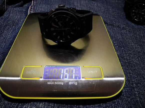 Hublot V6 Weight