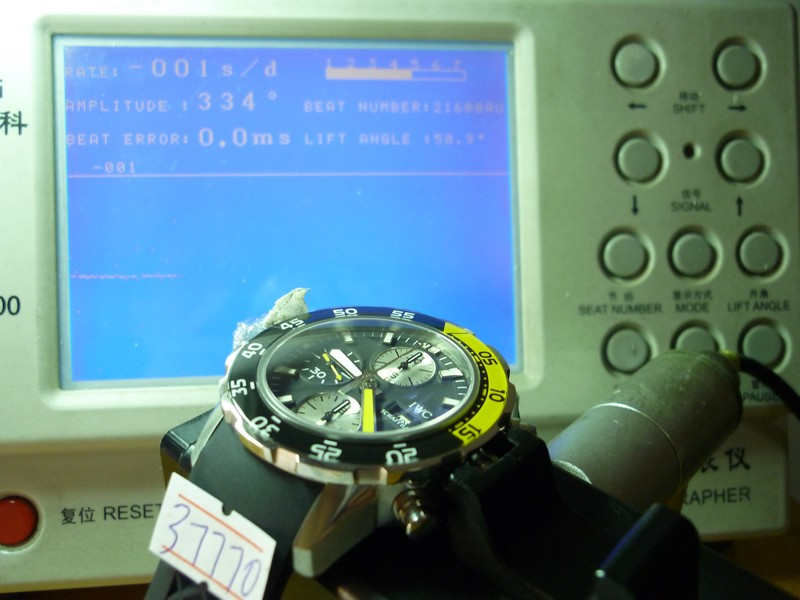 IWC Aquatimer Watch Test