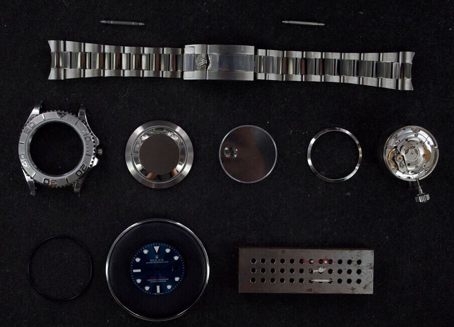 Yacht-Master Watch Components