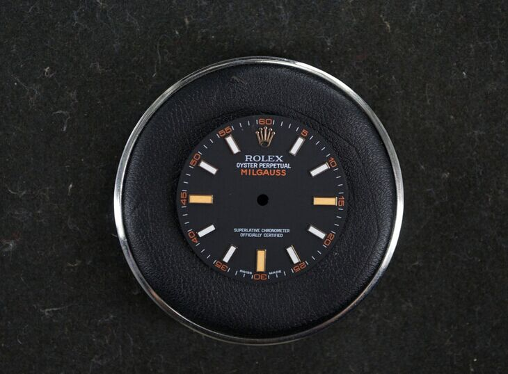 116400GV Milgauss Dial