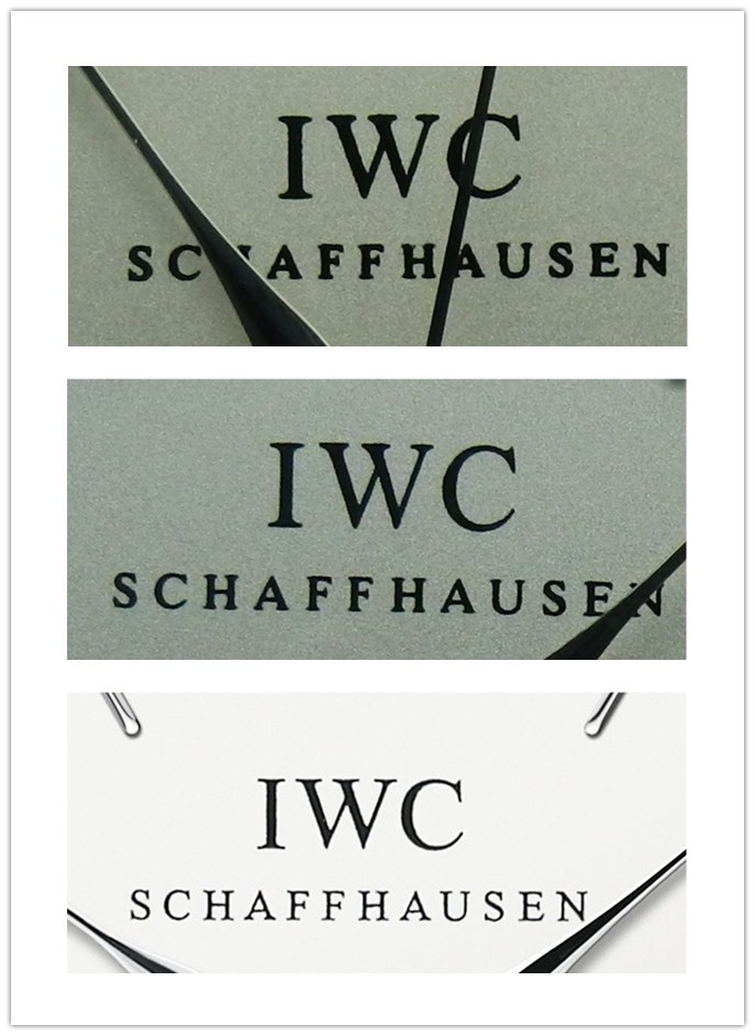IWC Lettering