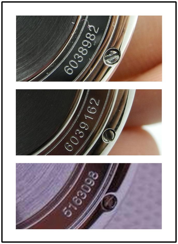 Portofino Caseback Engraving