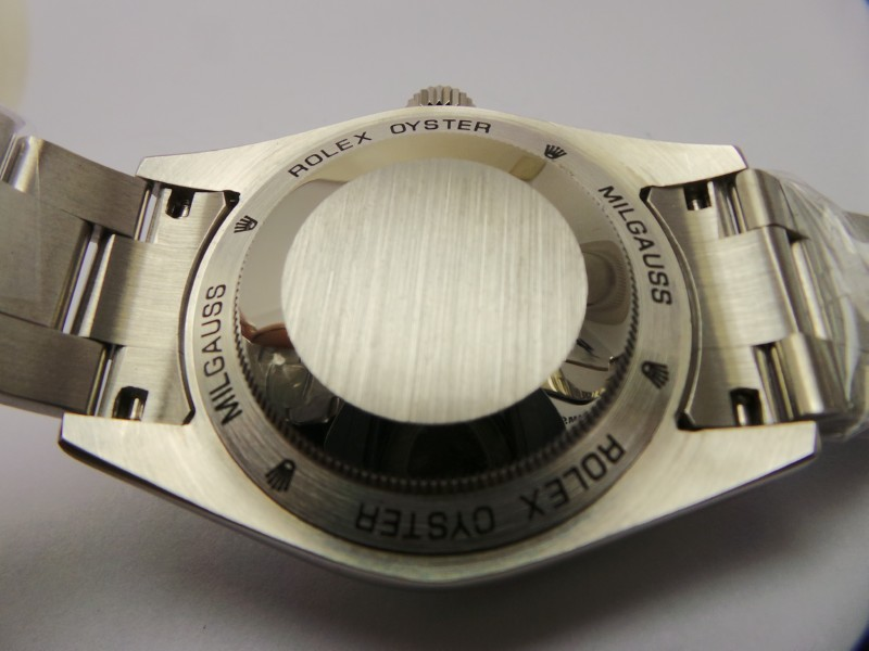 Rolex Milgauss Case Back