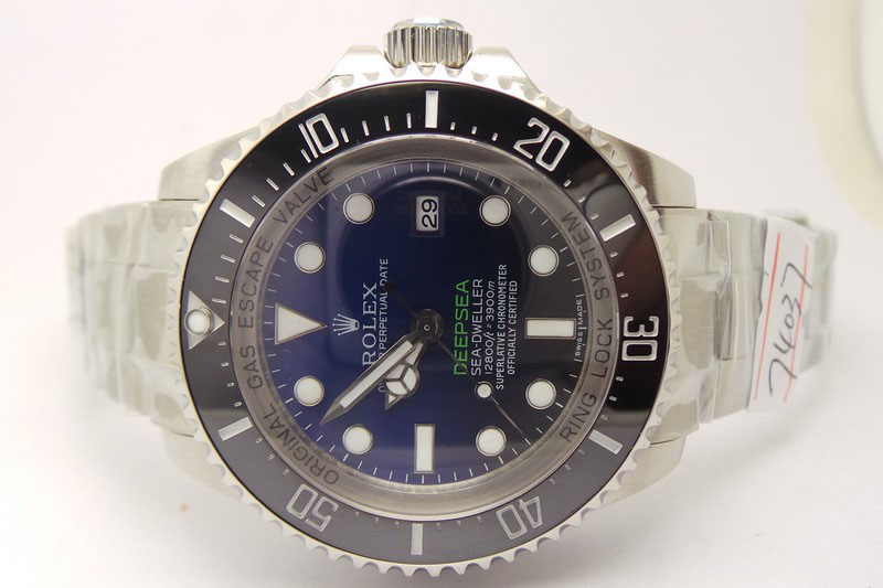 Rolex Sea-Dweller Deepsea D-Blue Watch