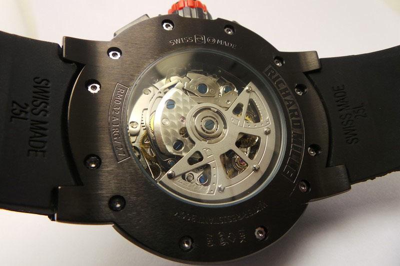 Richard Mille RM025 Caseback