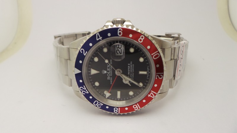 Rolex GMT Master II Blue Red Black Dial
