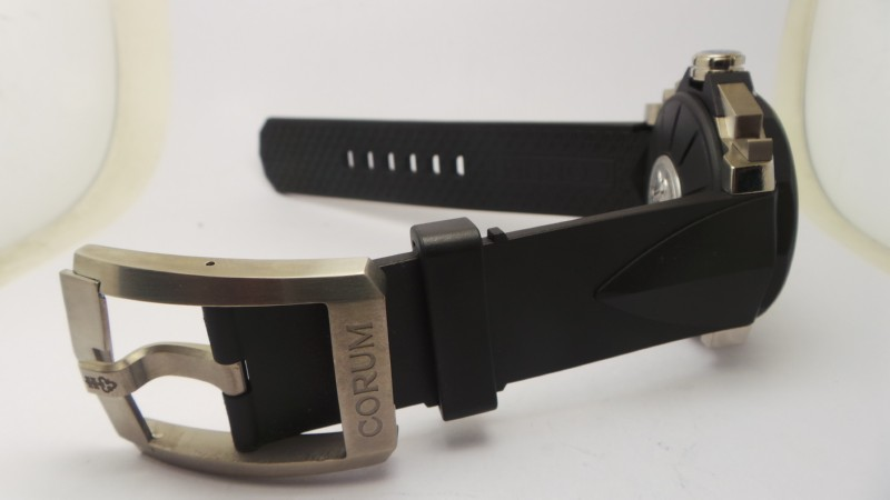 Corum Rubber Strap and Clasp