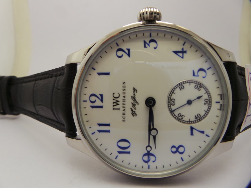 IWC FA Jones White Dial