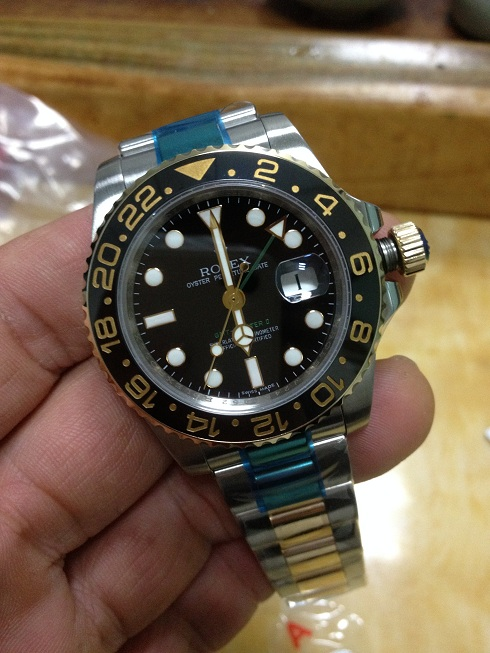 Noob Rolex 116713LN GMT Master II YG Wrapped