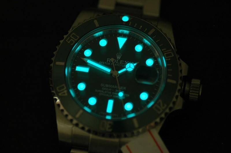 Rolex 116600LV Lume