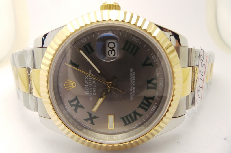 rolex datejust ii blue replica