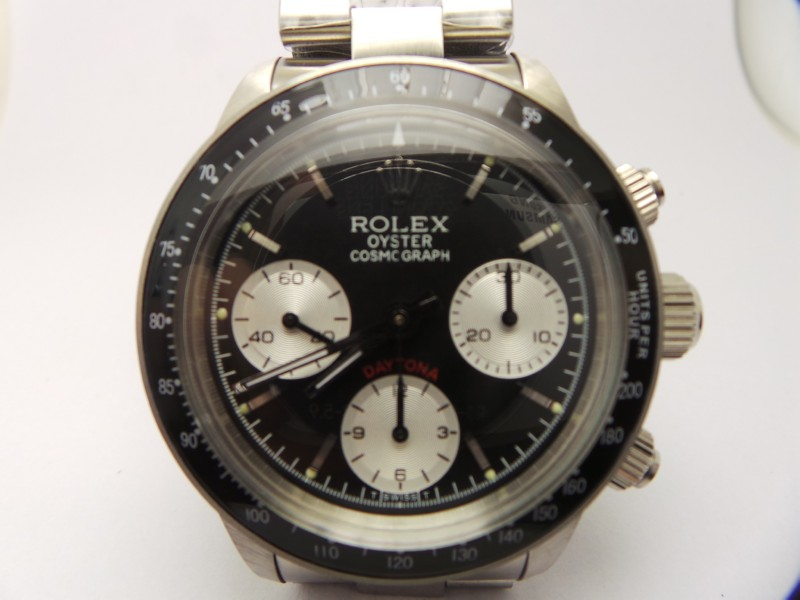 Rolex Daytona Paul Newman 6263 Black Dial