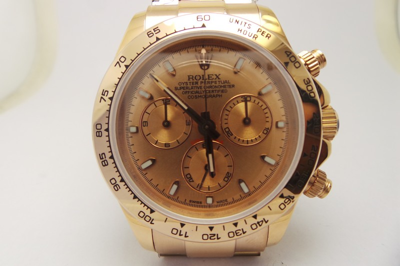 Rolex Daytona Rose Gold Replica Watch