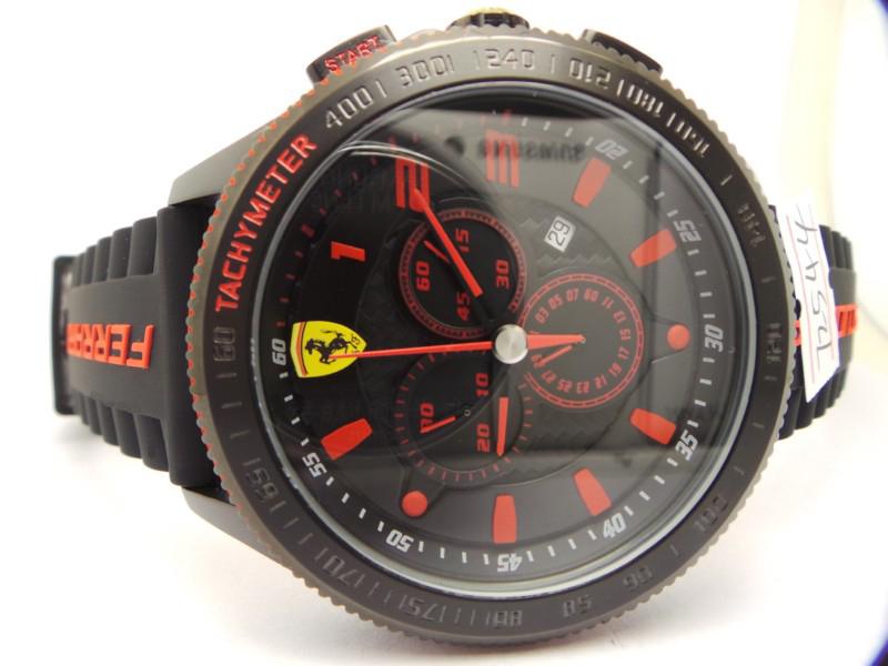 Ferrari Scuderia Chronograph Watch Dial 2