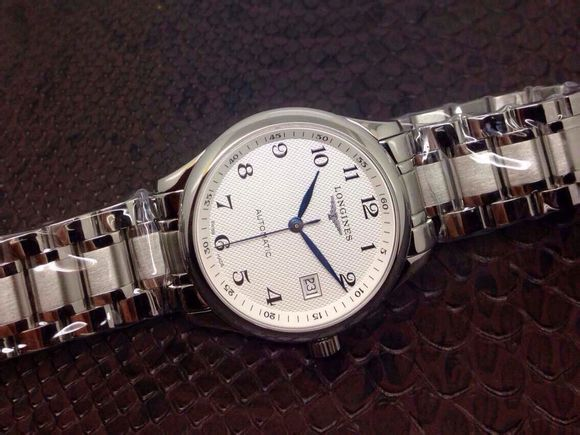 Longines White Dial