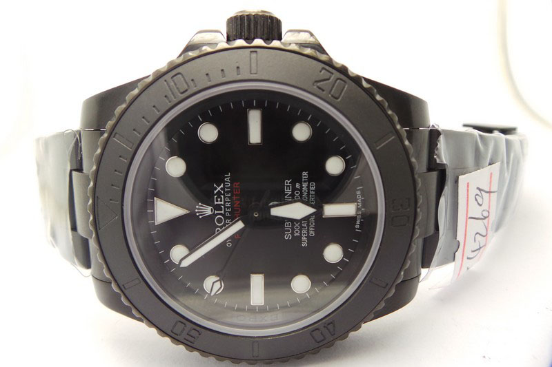 Rolex Submariner Pro Hunter Black Dial