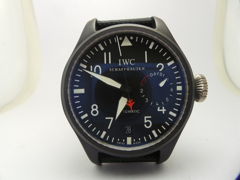 IWC Top Gun Ceramic Replica