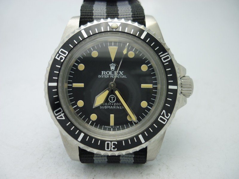Replica Rolex Vintage Submariner Ref.5517 Military T Dial ...
