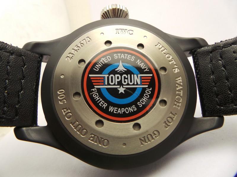 Top Gun Caseback