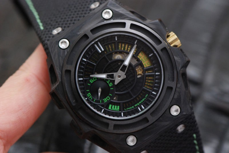 Linde Werdelin Spidolite Tech II Forged Carbon Case