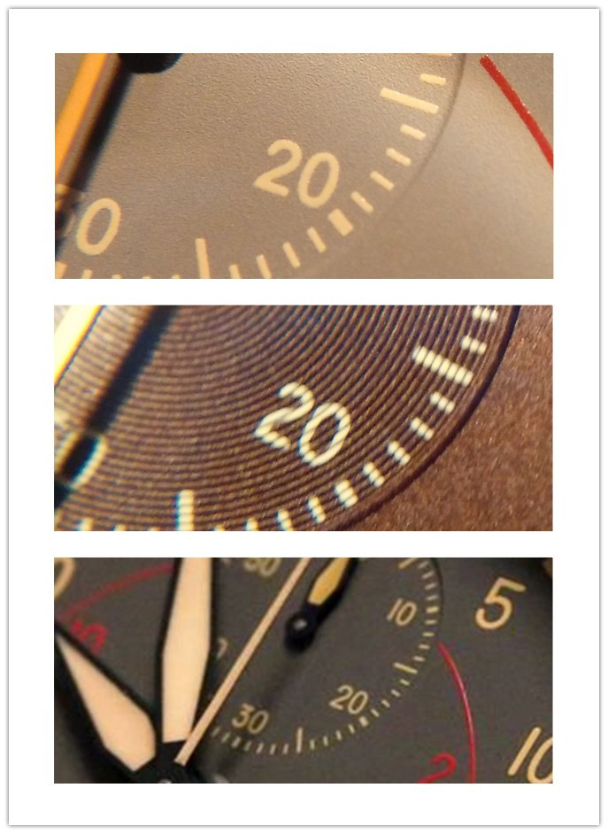 Minute-Chronograph Counter on Replica