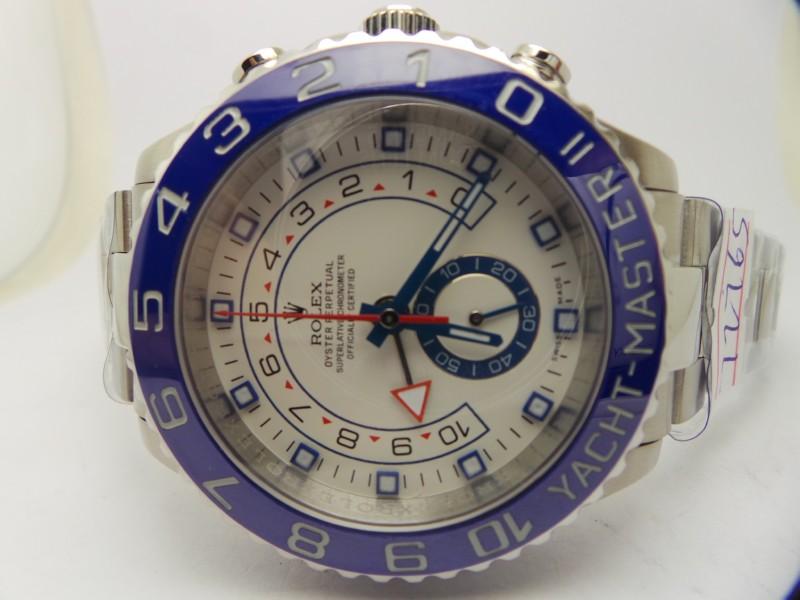 Replica Rolex Yacht-Master II White Dial
