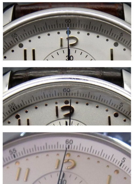 Second-Chronograph Hand Length
