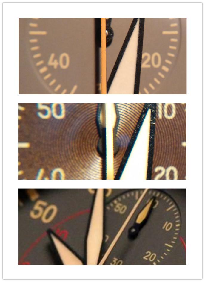 Second-Chronograph Hand Replica vs Genuine