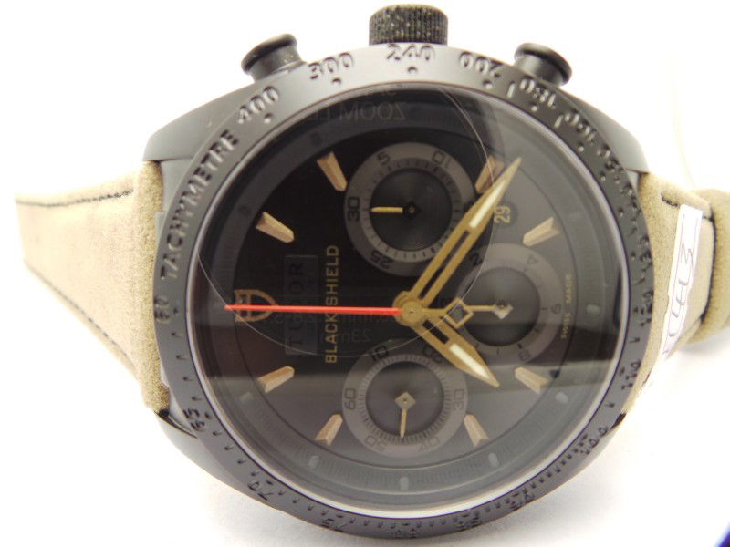Tudor Black Dial