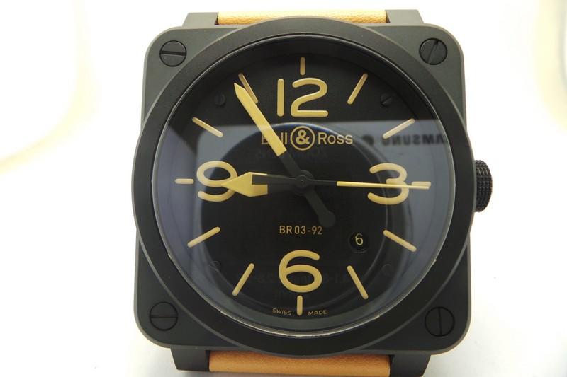 Bell Ross BR03-92 PVD Black Replica