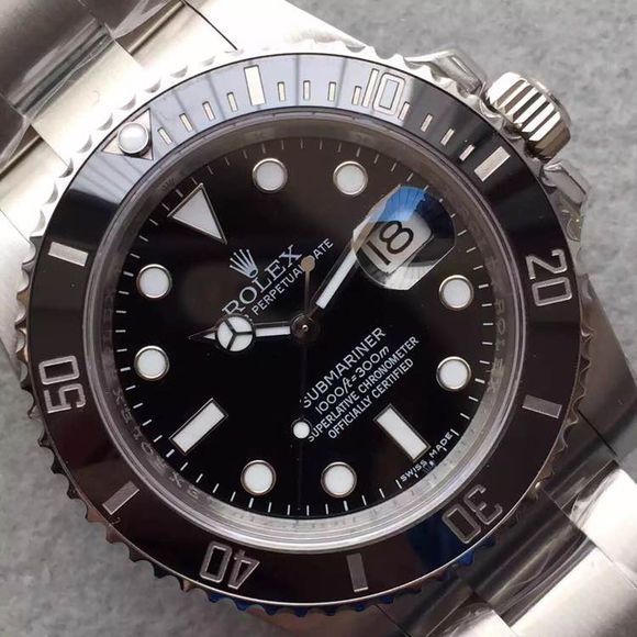 Black Submariner Bezel Engraving