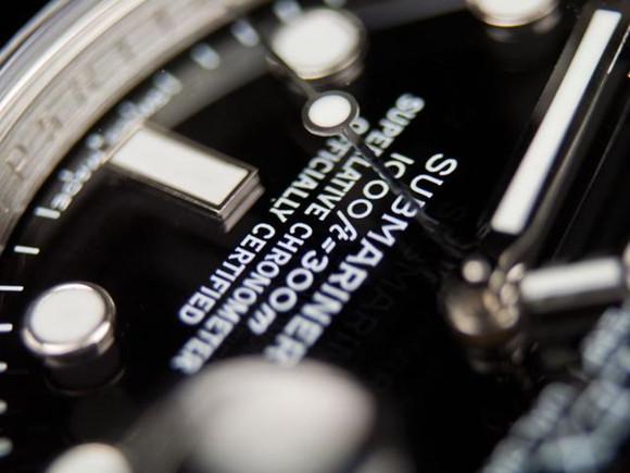 Black Submariner Dial