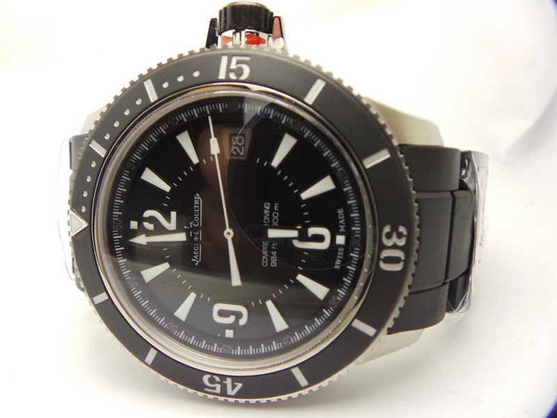 Jaeger Lecoultre Master Compressor Diving Q2018770 Black Ceramic Bezel