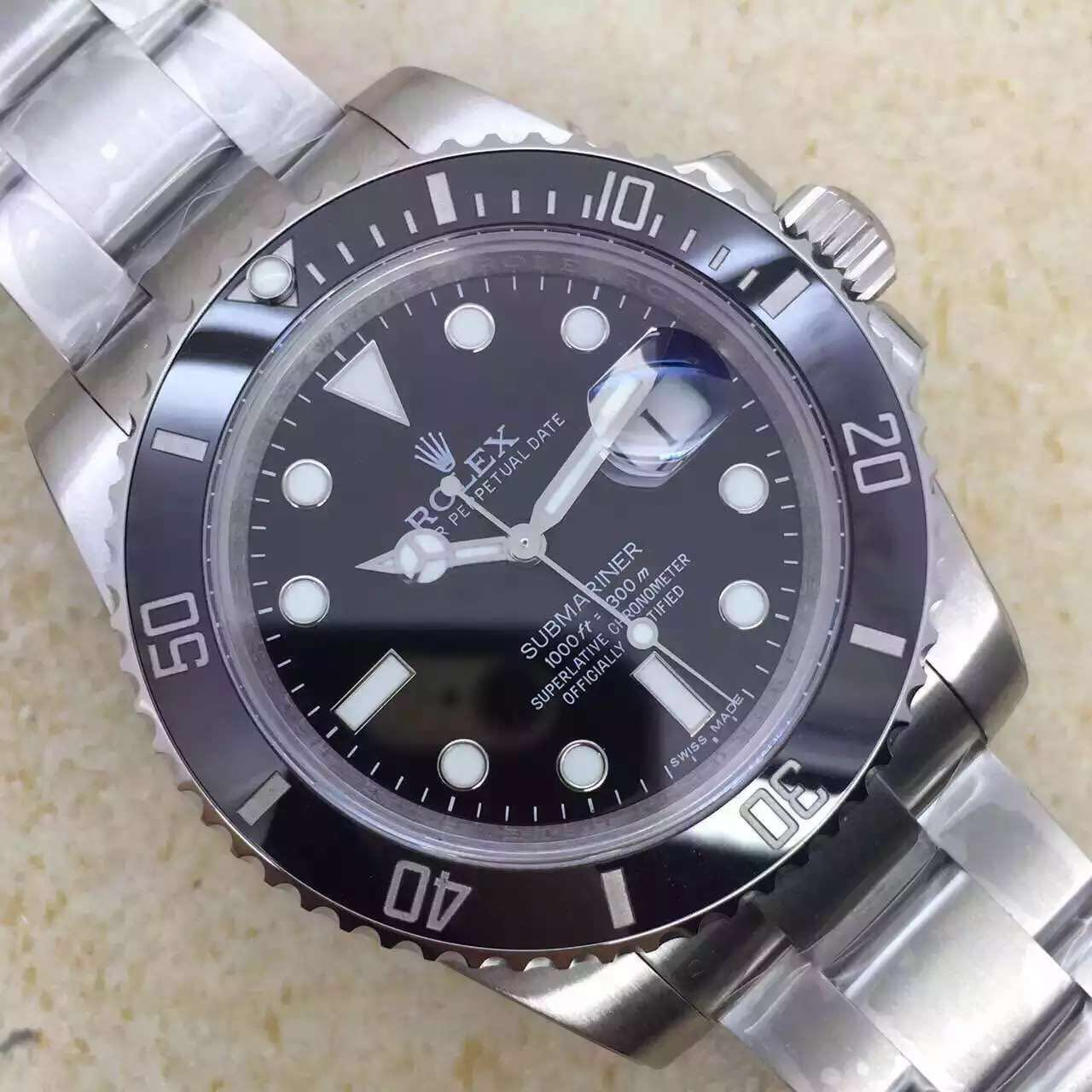 Noob V6s Rolex Submariner 116610 LN Black Ceramic Bezel