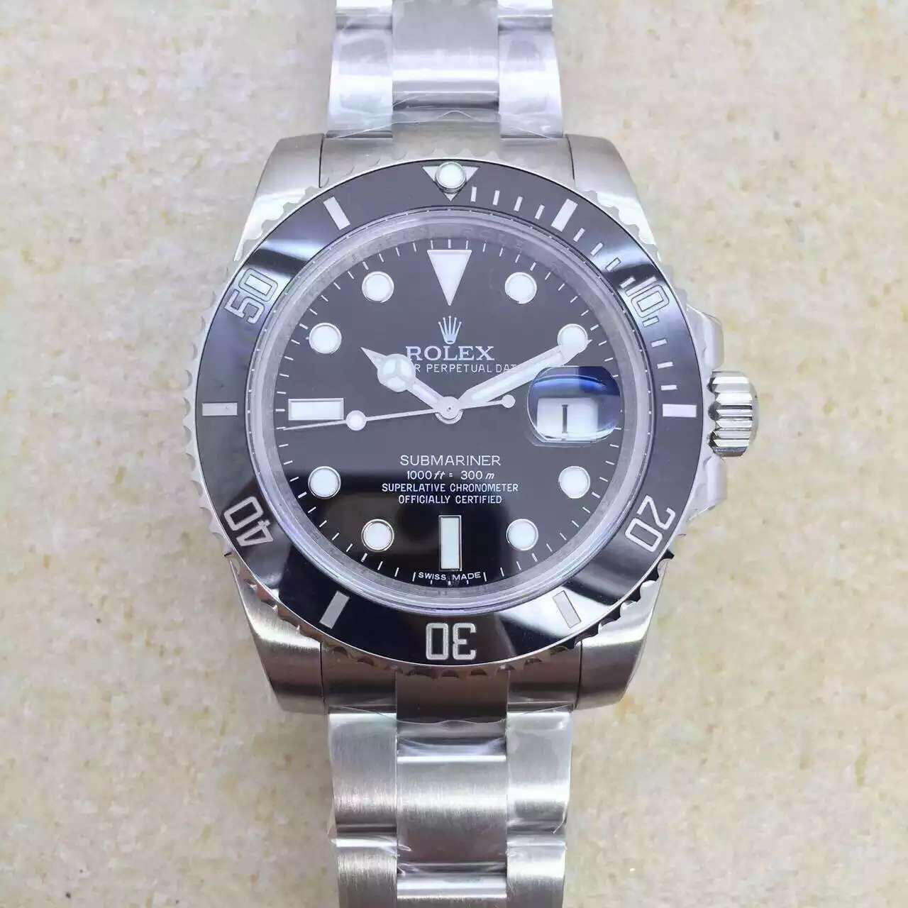 noob factory published replica rolex black submariner 116610 ln v6s with super 3135 hot spot. Black Bedroom Furniture Sets. Home Design Ideas