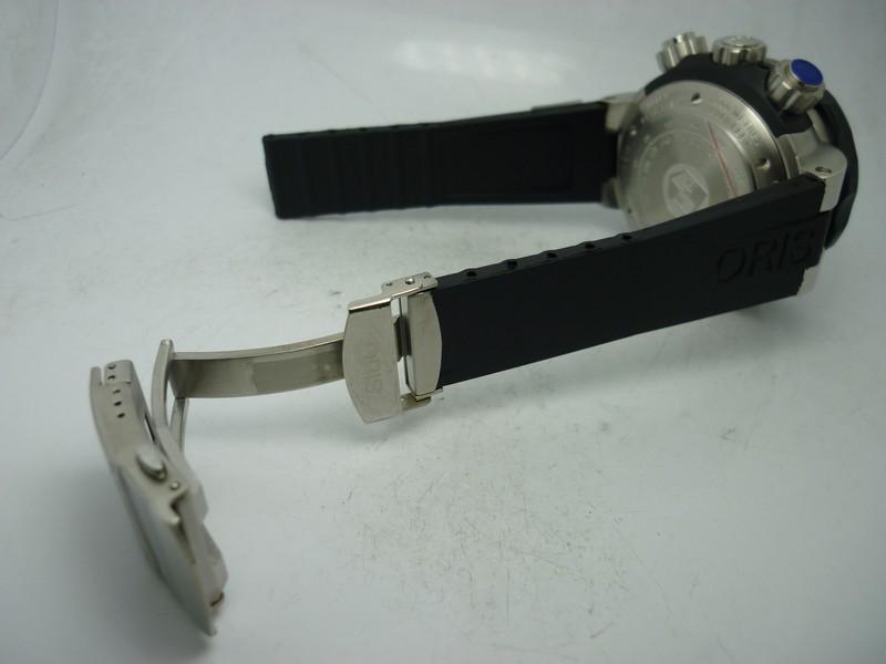 Oris ProDiver Black Rubber Strap