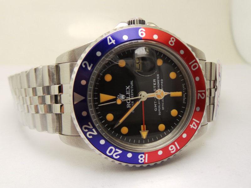 Rolex GMT Master Black Dial